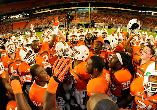 miami hurricanes 2012 team