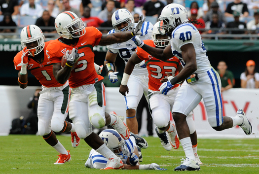 mike james miami hurricanes blue devils