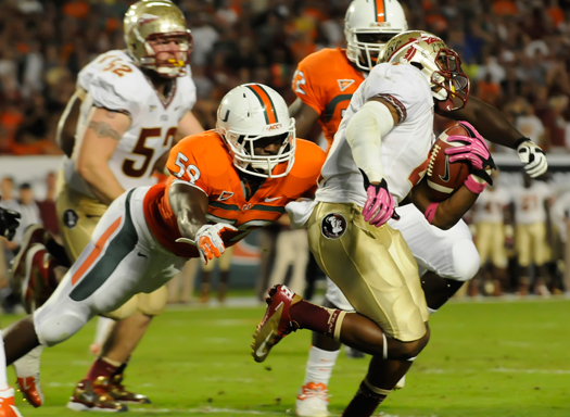 gionni paul miami hurricanes florida state