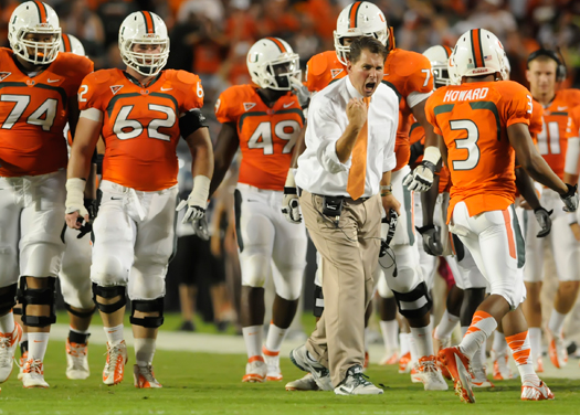 miami hurricanes team 2012