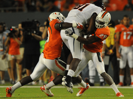 miami hurricanes virginia cavaliers