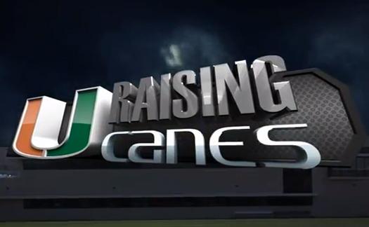 raising canes miami hurricanes allcanes