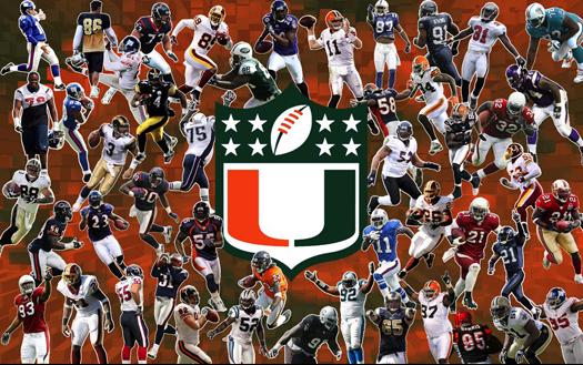 procanes.com allcanesblog.com miami hurricanes nfl u family the u