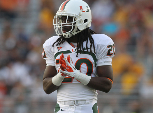 thomas finnie miami hurricanes arrested stealing laptop