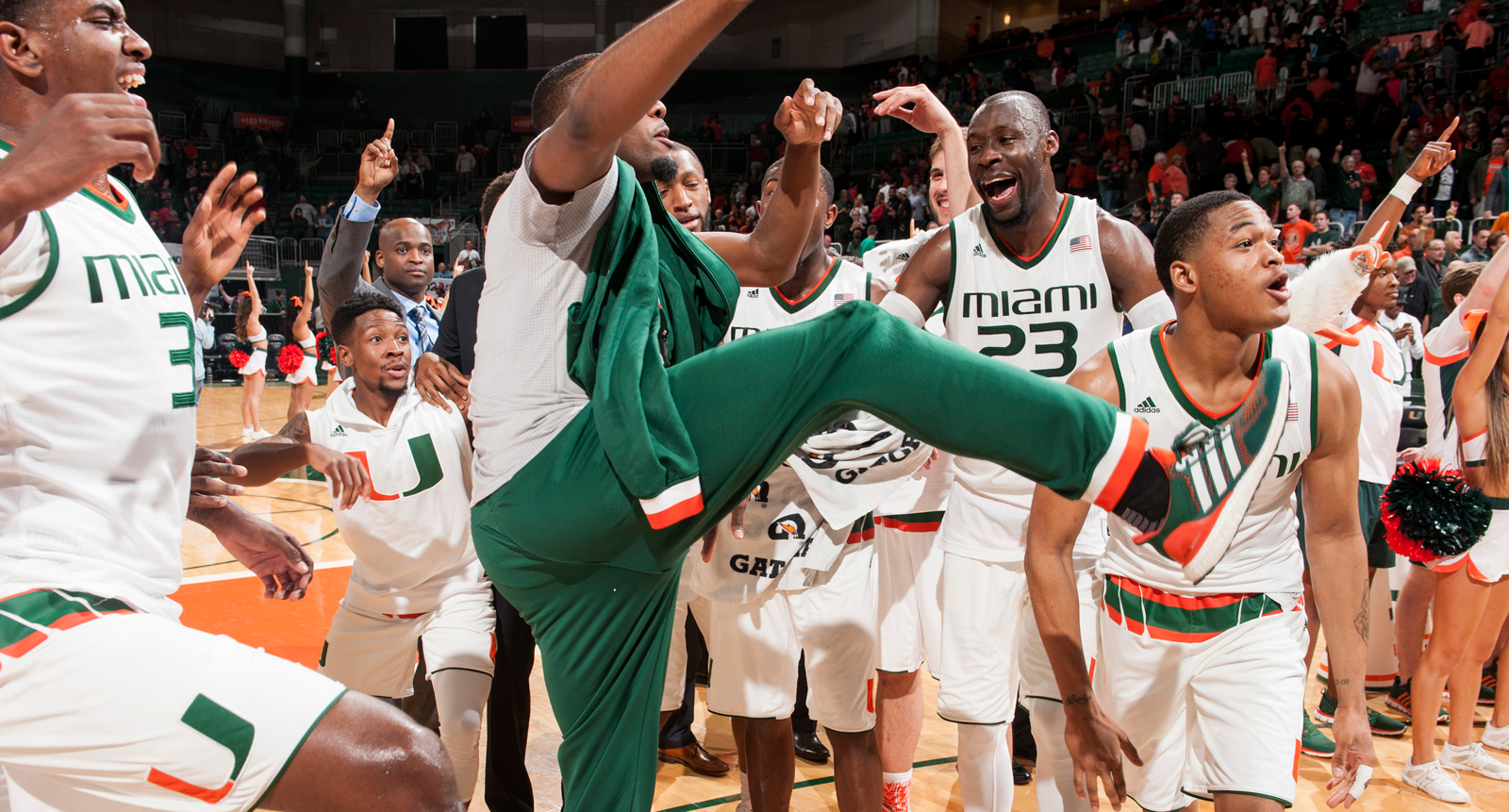 miami hurricanes basketball ncaa tournamnet march madness seeding selection show.