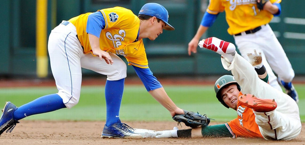 miami hurricanes baseball college world series the u UC santa barbara gauchos arizona wildcats losers bracket td ameritrade