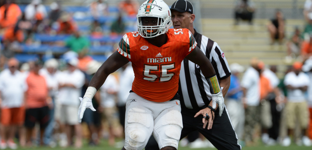 Shaq Quarterman (pictured), Mike Pinckney & Zach McCloud are a trio of freshman LBs expected to make noise this fall.