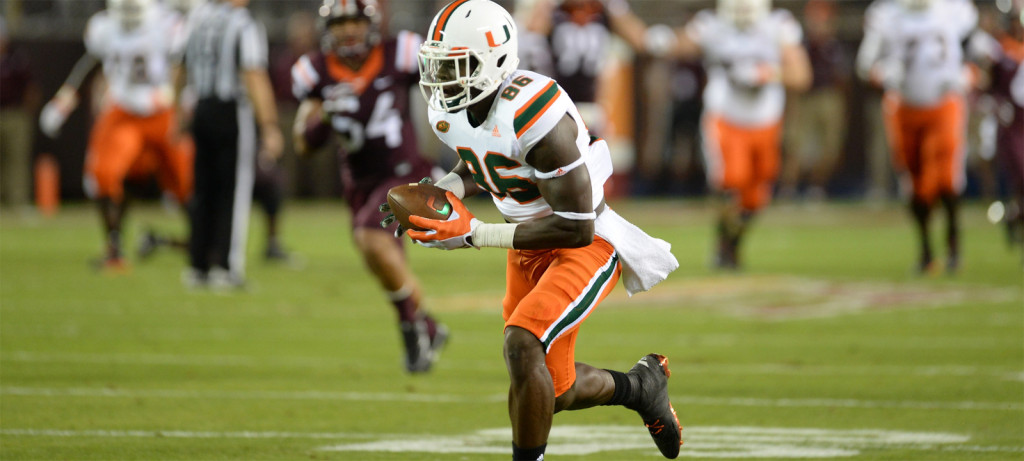 miami hurricanes football virginia tech hokies atlantic coast conference espn thursday night