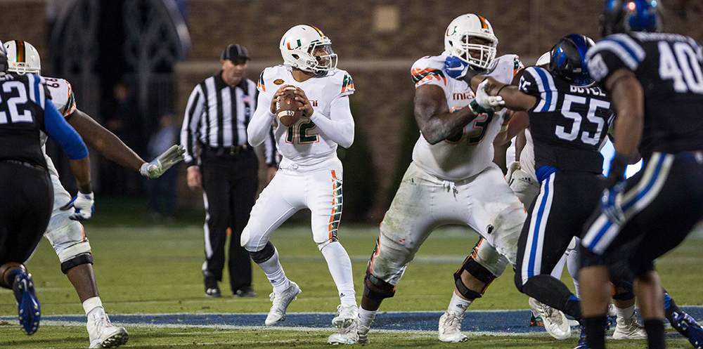 malik-rosier-miami-hurricanes-football-duke-blue-devils