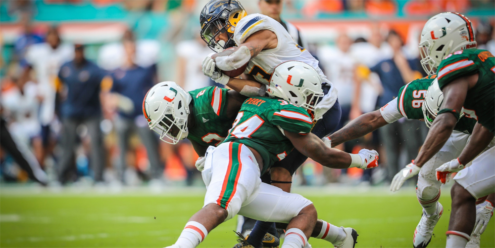 miami hurricanes football defense the u