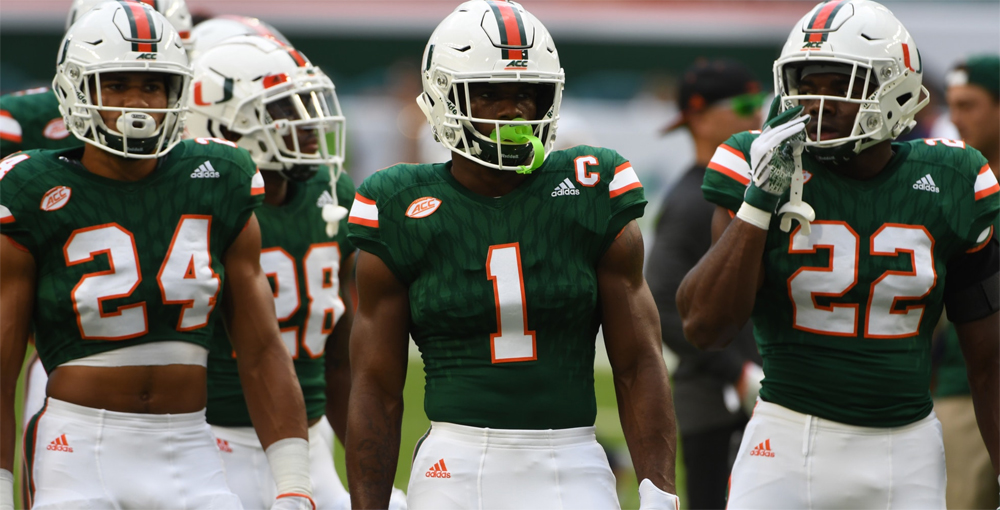miami hurricanes football mark walton travis homer running backs toledo rockets mark richt
