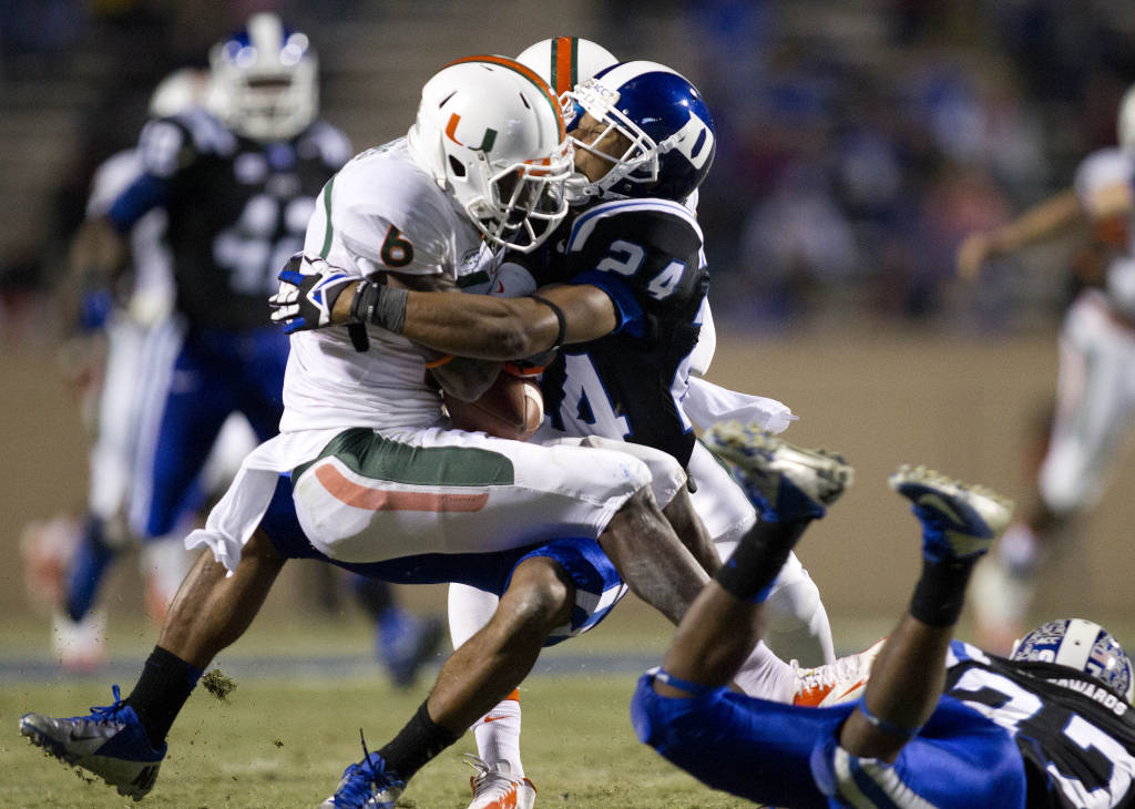 miami hurricanes duke blue devils